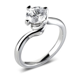 Round Brilliant Solitaire Ring JSDR1-2184