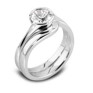 Round Brilliant Solitaire Ring JSDR1-88
