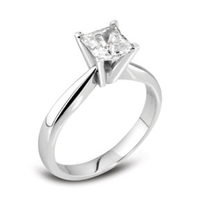 Square Solitaire Ring JSDM94-B3