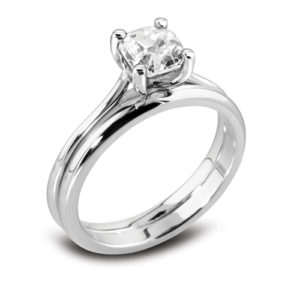 Square Solitaire Ring JSDR1-2022