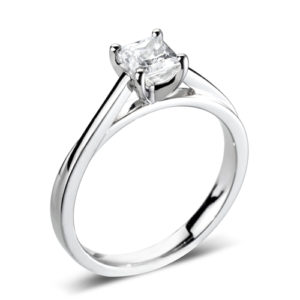 Square Solitaire Ring JSDR1-2126