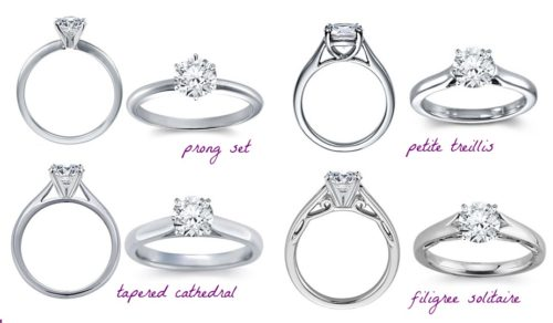 Prong Diamond Solitaire Engagement Ring